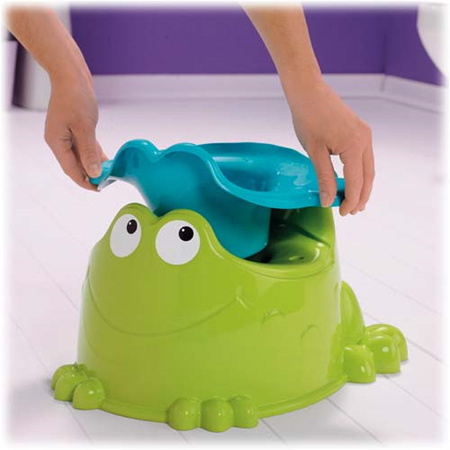 Enjoyable and Easy to Train Precious Planet Froggy Friend Potty