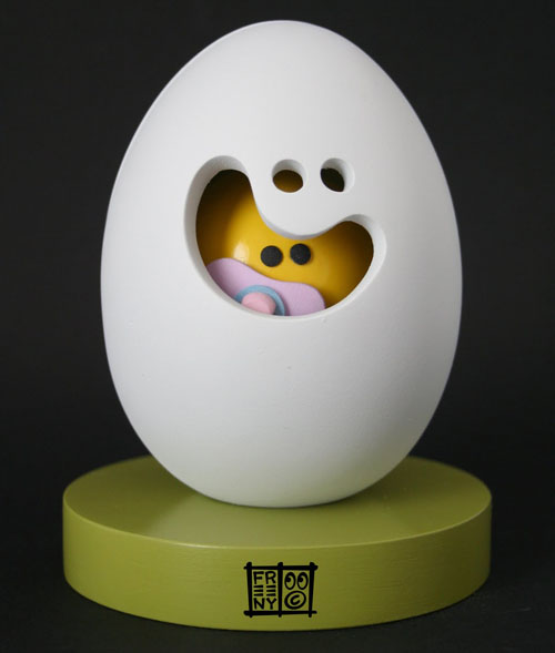 Egg Head & Baby Yolkel by Jason Freeny