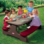 Little Tikes Endless Adventures Easy Store Table for Comprehensive Group Fun