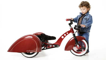 Enzo Trike with Buddy Wag