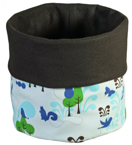 Felt Bucket Enchanted Forest