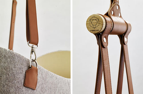 Felt Cradle by O-bjekt Design