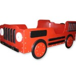 Cool Fire Truck Toddler Bed for Our Little Firefighter