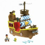 Interactive Fisher-Price Disney's Jake and The Neverland Pirates Toy With Spring Loaded Cannon