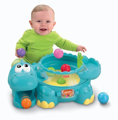 Go Baby Go Poppity Pop Musical Dino from Fisher-Price