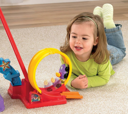 Fisher-Price Little People Loops 'n Swoops Amusement Park Toy
