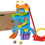 Fisher-Price Little People Loops 'n Swoops Amusement Park Offers a Little Thrill of a Roller Coaster