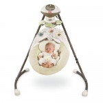 Fisher-Price My Little Snugabunny Cradle and Swing Is Loved by Babies and Adored by Parents