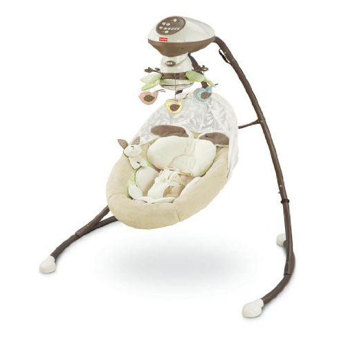 Fisher-Price My Little Snugabunny Cradle and Swing