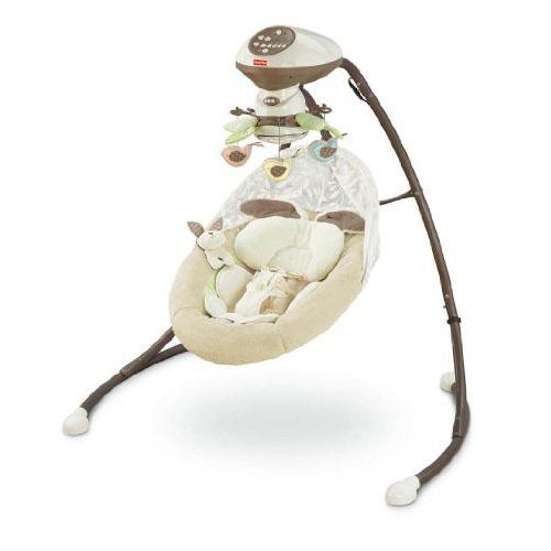 Fisher-Price My Little Snugabunny Cradle and Swing