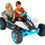 Fisher-Price Power Wheels Chrome Dune Racer With 2 Forward Drive Speeds and Power-Lock Brake System