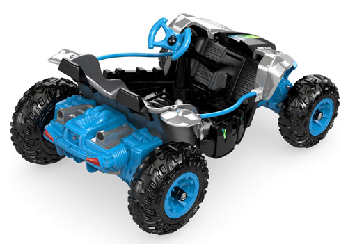 Fisher-Price Power Wheels Chrome Dune Racer
