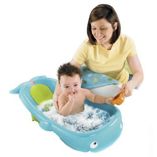 fisher price precious planet whale of a tub with adorable whale design makes bath time more fun. Black Bedroom Furniture Sets. Home Design Ideas