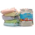 Fitted Cloth Diapers Features Attractive Color And Provides Comfortable Diapering