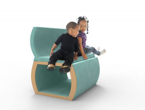 Fold-a-Fort Children's Furniture by Nicole Kurtz