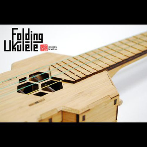 Folding Ukulele by Brian Chan