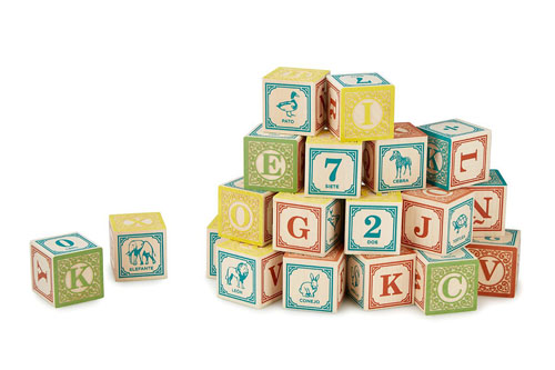 Teach Your Baby Two Languages with Foreign Language Blocks