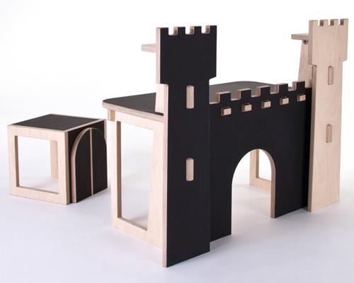 Forteresse Castle Desk for Kids