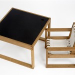 Frame Chair and Table for Kids