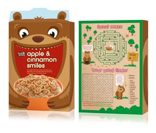 Fresh & Easy Kid's Cereals Just Won Pentaward Award