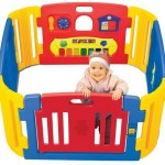 Friendly Toys Little Playzone : Indoor and Outdoor Playpen For Toddlers