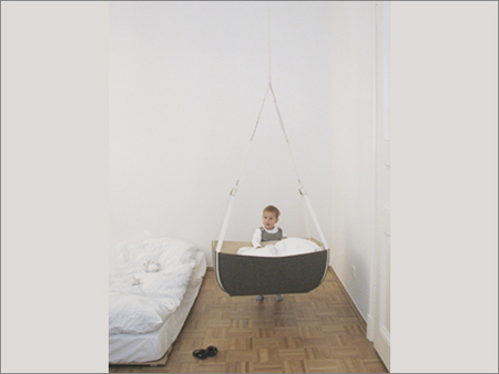 Hanging Crib By Claudia Unger Modern Baby Toddler Products