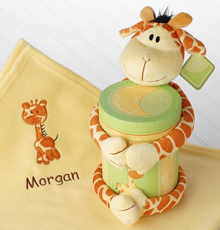 Baby Giraffe Blanket