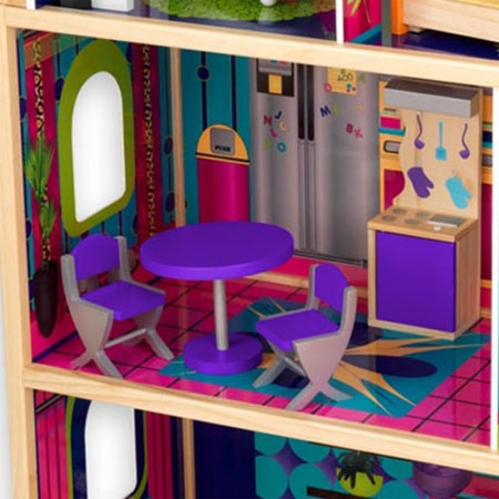 Glamour Dollhouse Can Become Your Little Girl's Most Favorite Playing Mate