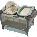 Graco Pack 'n Play Playard with Cuddle Cove Rocking Seat Is Ideal for Newborn, Infant, to Toddler