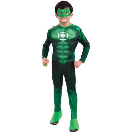 Green Lantern - Hal Jordan Muscle Child Costume - Top 20 Halloween Kids Costumes