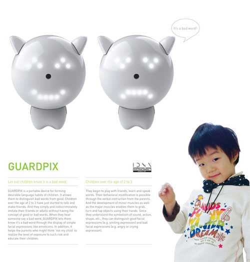 Guardpix Language Device Teaches Your Children The Difference Between Good and Bad Words