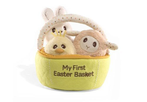 Celebrate Easter with Baby Gund My First Easter Basket Playset