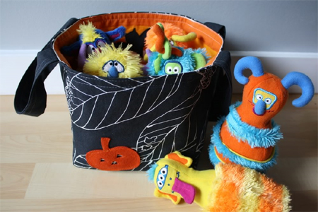 Halloween Bucket baby stuff carrier