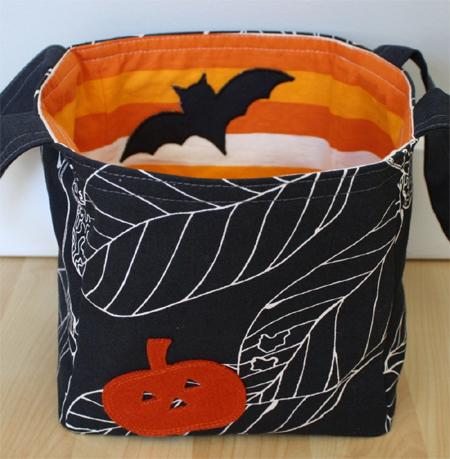 Halloween Bucket baby stuff carrier