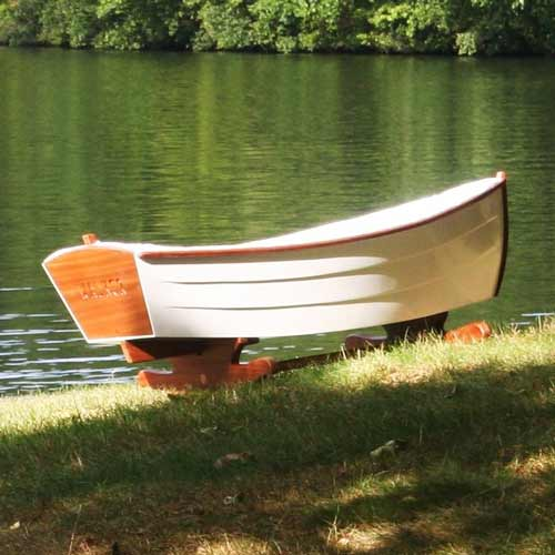 Unique Handcrafted Row Boat Cradle Rocks Your Baby To