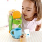 Your Children Can Make You A Great Coffee with Hape Coffee Maker