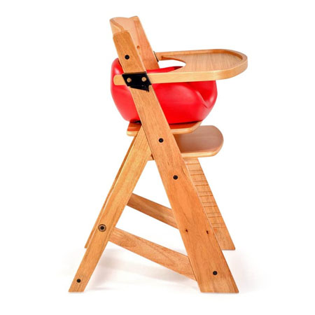 Keekaroo Natural Height Right High Chair