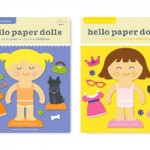 Fashionable and Cute Hello Hanna Princess Paper Dolls