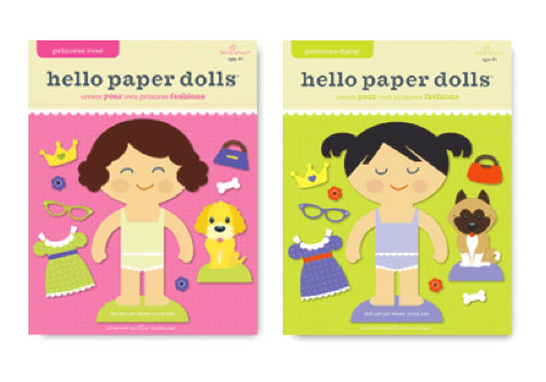Hello Hanna Princess Paper Dolls