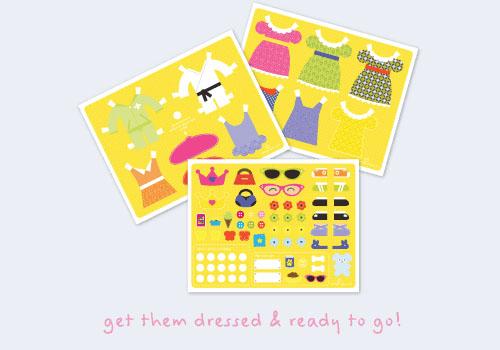 Hello Hanna Princess Paper Dolls