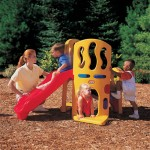 Hide And Slide Climber Is A Complete Alternative For Your Kid's Active Playing