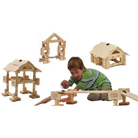 House Bridge Building Kit by Timberworks