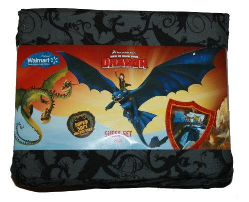 How To Train Your Dragon Full Sheet Set - How to Train Your Dragon Bedroom Decor