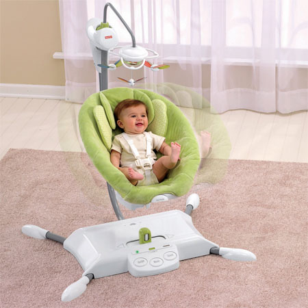 i-glide cradle baby swing