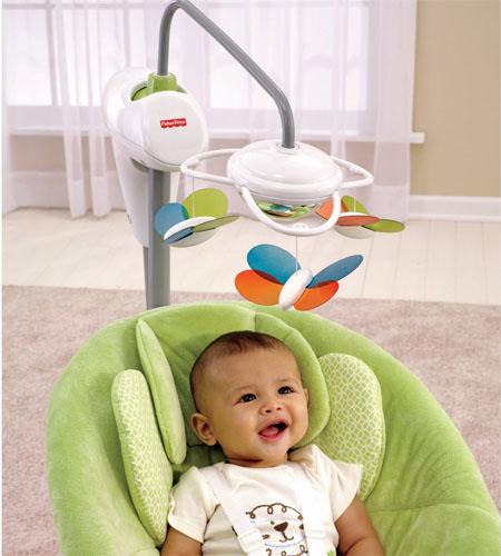 i-glide cradle baby swing
