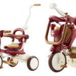 iimo Folding Tricycle for Toddlers Won't Take Much Space in Your Apartment