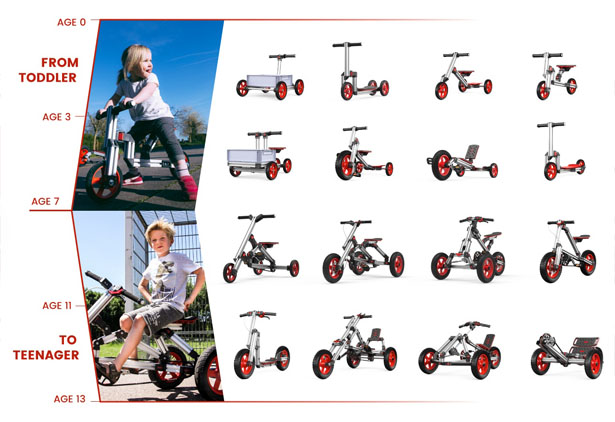 Infento Constructible Rides for Kids