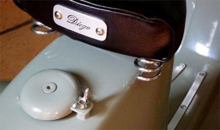 Innovative Vespa Rocking Horse Diego