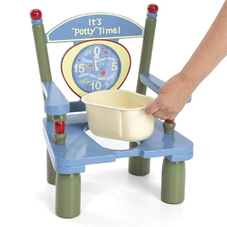 its potty time potty chair