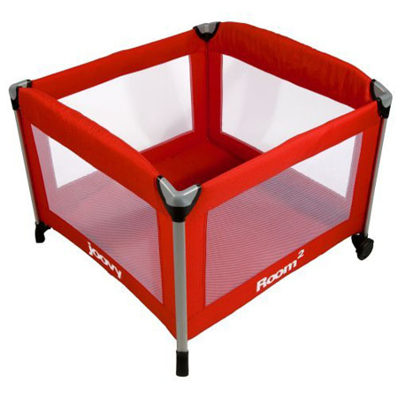 Joovy Room2 Playard Provides 50% More Space Compared To Traditional Playards